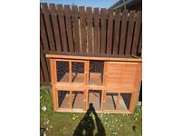 Rabbit hutch , used 2 years old .. £50