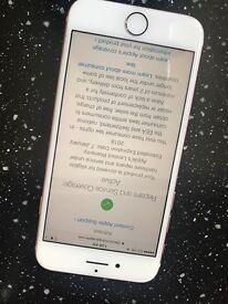 Iphone 7 rose gold unlocked 128gb