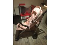 Lovely pink butterfly buggy for sale