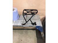 Harley Sportster detachable rack