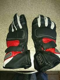 Spada summer motorbike gloves size small to medium