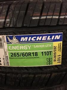 4 Brand  New Michelin Energy Saver LTX 265/60R18 *** WallToWallTires.com ***