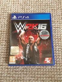 Wrestling ww2k16
