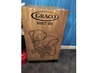 Brand new Graco modes double pushchair