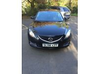 Mazda6 diesel, 08 reg black manual