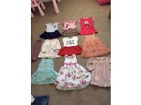 Large 18-24 clothes bundle girls