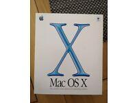 Apple Mac OS X 10 Cheetah software - CD in original pack