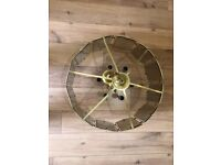 12 sided Retro electric chandelier FREE !