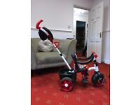 Little Tikes 4-in-1 Sports Edition Trike - RED and WHITE barely used condition!