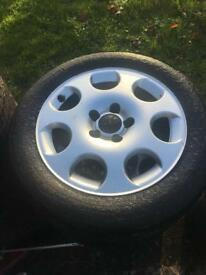 "16"" alloys 5x112 vw seat"