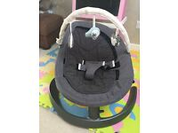 Nuna baby leaf rocker chair with toy bar