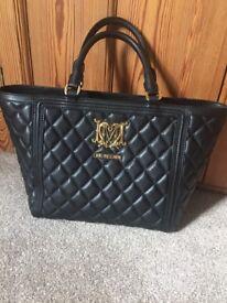 Moschino black handbag for sale