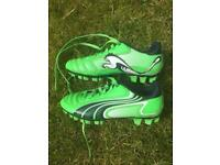 Puma Football Boots Kids size 12