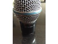 Shure Beta 58A mic