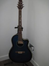 Tanglewood semi acoustic guitar in excellent condition