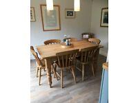 Reclaimed Pine Kichen Table