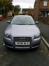 Audi a3 3 doors petrol 2006 for sale