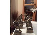 Football presentation trophies