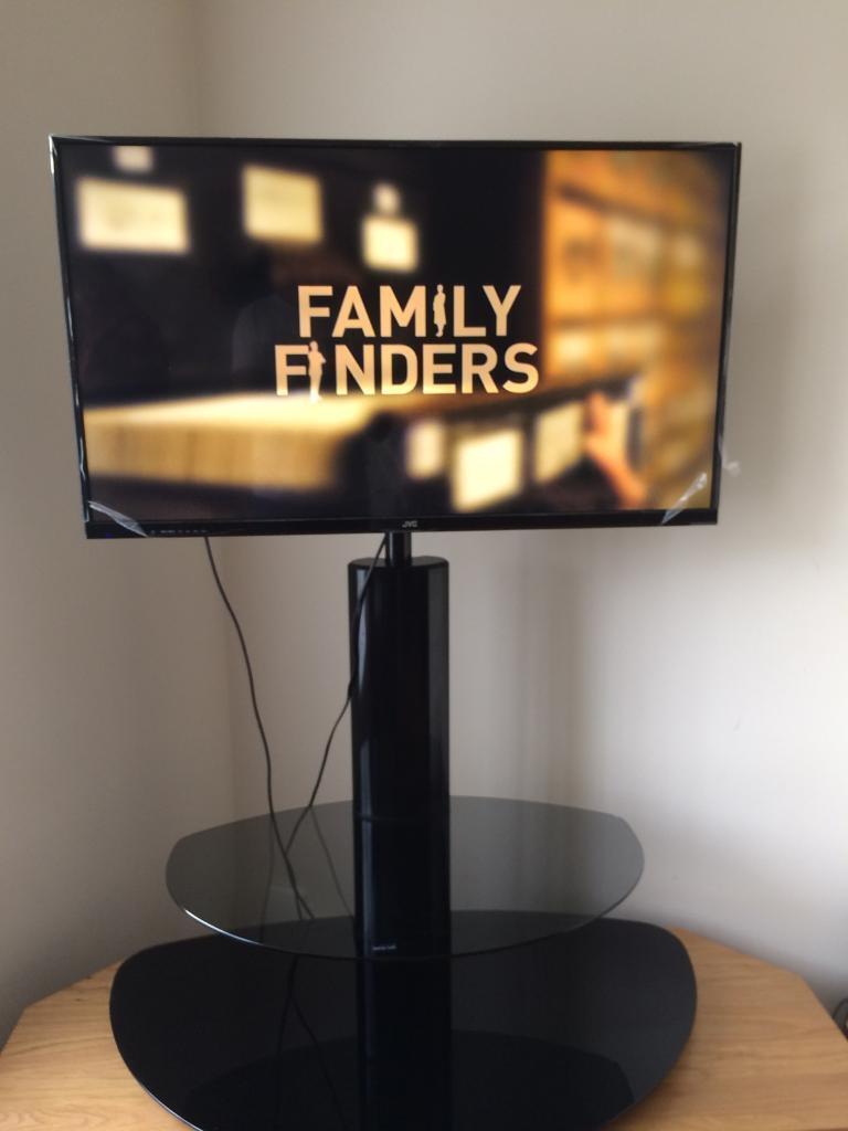 "JVC 39"" LED TV - Floor Stand - Like New"