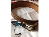 Ladies medium size belt