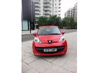 **1Ltr PEUGEOT 107** 2007 with 1 OWNER nt astra corsa fiesta focus polo golf peugeot punto clio