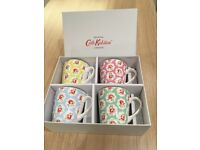 Cath Kidston Set of Four Mugs - Brand New