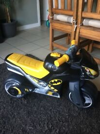 Batman Bike, black in good used condition