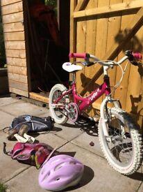 "Girl's Bike Kids Dawes Lottie - 16"" Bike 2018"