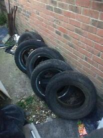 5 BRAND NEW TYRES! 15 INCH! DELIVERED