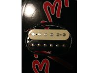 Shur SSH+ Bridge Humbucker Pickup 50mm (Zebra)