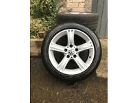 "17"" Alloys with good Pirelli tyres."