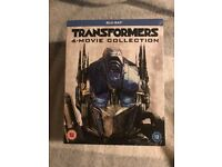Transformers 1- 4 Exclusive UK Steelbook Limited Edition Blu Ray Box Set