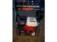 Petrol power washer