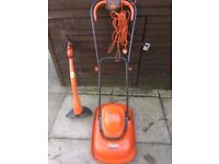 Flymo lawnmower and strimmer both full working