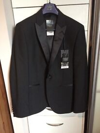 Brand new from next black slim fit jacket