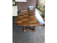Dining Room Table and 4 Chairs, excellent condition.