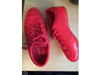 Red Firetrap Trainers size 5