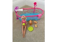 Barbie Puppy Swim School.