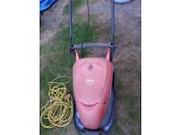 FLYMO 330 COMPACT ELECTRIC HOVER LAWNMOWER 1500W, CLEAN&GOOD CONDITION,ALL FULLY WORKING & LONG LEAD
