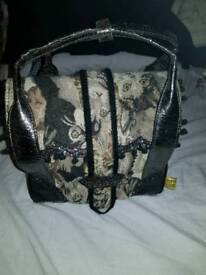 Irregular choice rare cat handbag