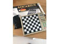 Aquarius Chess/Draughts Computer game