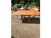 Drop leaf dining room table