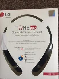 LG Wireless Bluetooth earphones