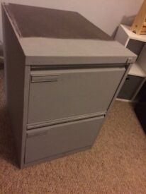 2 x 2 drawer filing cabinets