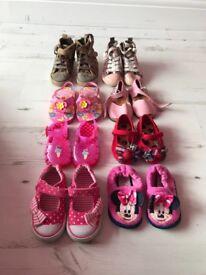 Infant Girls shoe bundle size 4