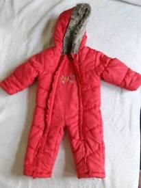 9-12 months winter suit