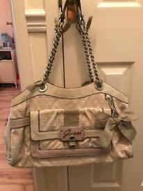 Stunning Genuine Guess Handbag and Matching Purse