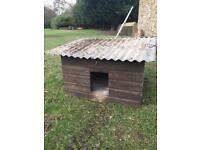 Large animal hut