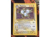 Magneton Shiny 1999 Wizzards 11/62 Fossil Pokemon Card