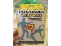 Hen party inflatable willy game